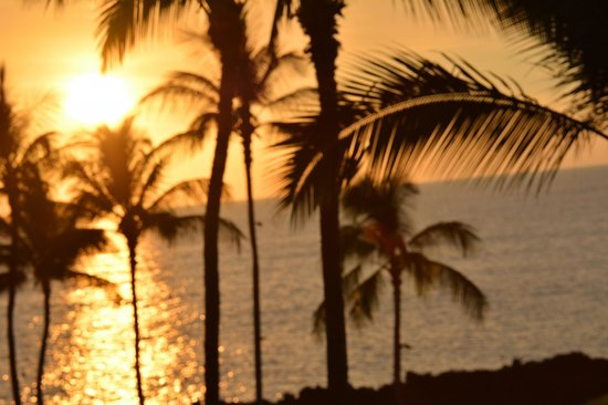 Fairmont Orchid, Hawaii : Amazing sunsets