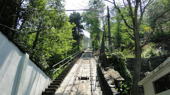 Cerro San Cristóbal: Funicular dá acesso ao Cerro