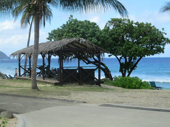 Renaissance St. Croix Carambola Beach Resort & Spa: A cute little hut for those who want to sit in the shade