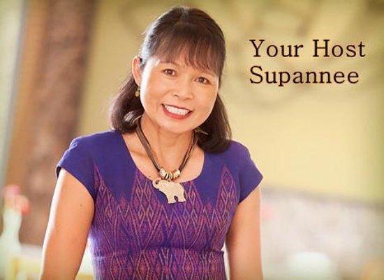 Supannee House of Thai: Your Host, Supannee