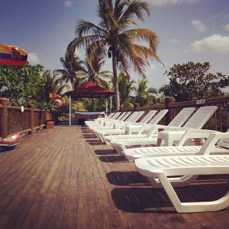 Santiago de Tolu, โคลอมเบีย: Zona de masaje