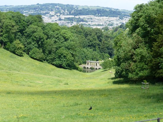 Beech Cottage B&B: Priory Park - within walking distance.  Overlooks Bath.