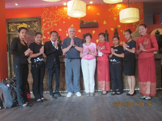 Golden Temple Hotel : Our Cambodian friends