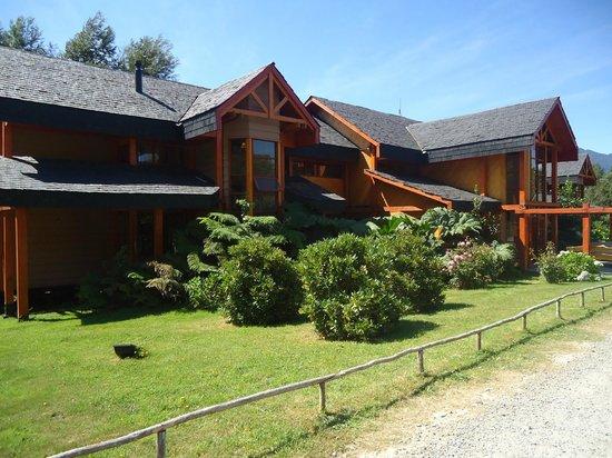 Yelcho en la Patagonia: El hotel...