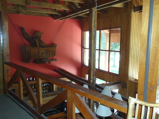 Yelcho en la Patagonia: Dentro del hotel