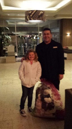 Crowne Plaza Hotel Kansas City Downtown: Amazing staff at this hotel!