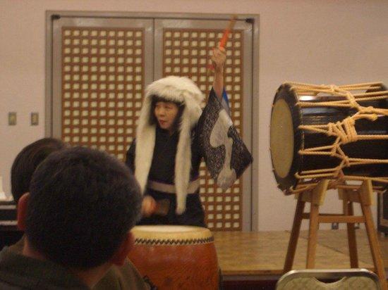 Nishino Miyabi Tokiwa: 太鼓も本格的