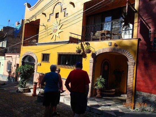 Outside of Casa Del Sol