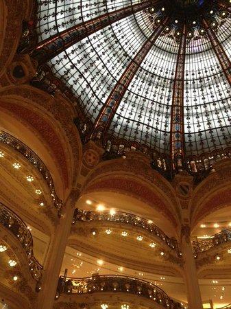 Galeries Lafayette: ドーム