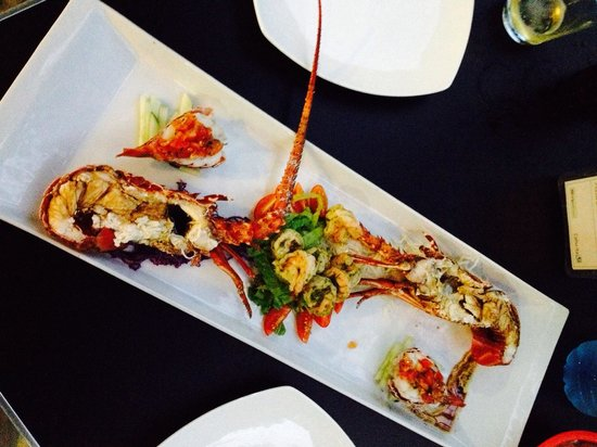 Pizzeria Cahuita: Σαλάτα με άρωμα θάλασσας!!!