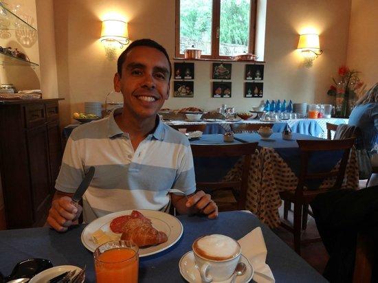 Borgo il Melone: Café da manhã: esperávamos mais..