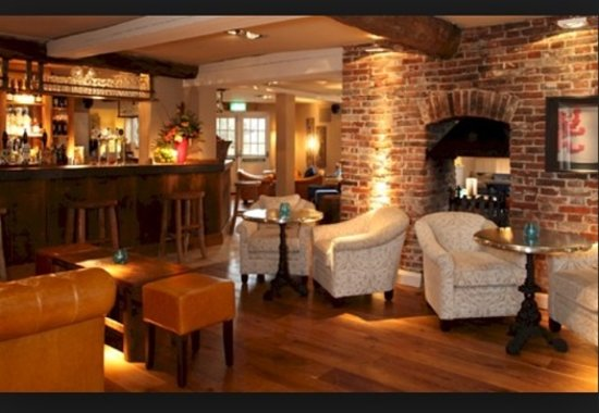 The Red Lion: Our Bar Area, Dog Friendly