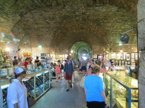 Underground Shopping Picture Of Old Split Split