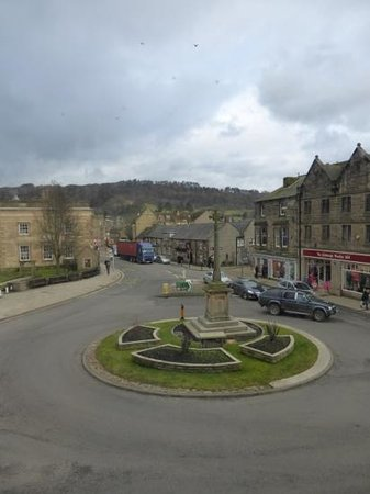 Rutland Arms Hotel Bakewell: Veiw from our room