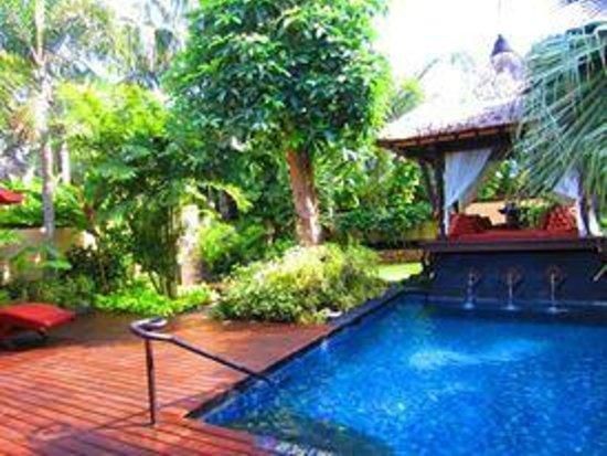 The St. Regis Bali Resort: Gardenia Villa pool and Bale