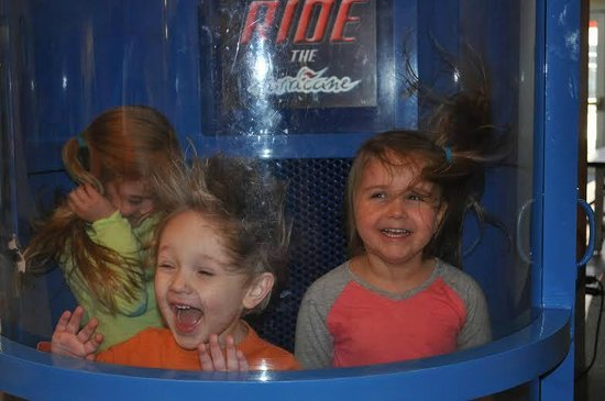 McWane Science Center: In the tornado simulator