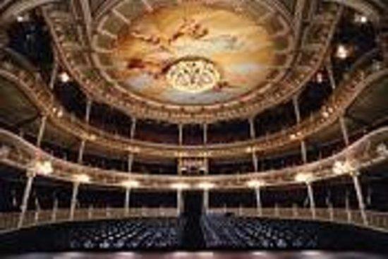 Teatro Nacional Costa Rica : Parte interna