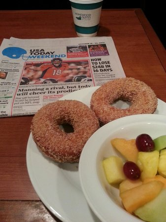 Homewood Suites by Hilton Portsmouth: A good morning