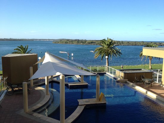 Rydges Port Macquarie : View from level two