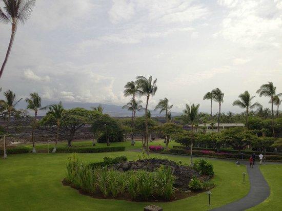 Waikoloa Beach Marriott Resort & Spa : Hotel grounds