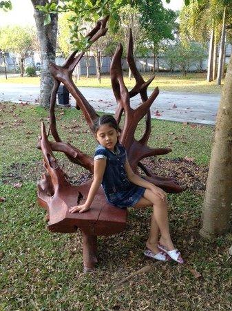 Amarin Resort: Outside Garden