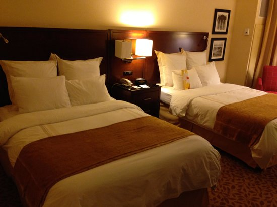 Jacksonville Marriott: 2 Double Beds Room