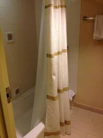 Jacksonville Marriott: Tub/Shower