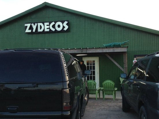 Zydeco's Restaurant and Bar: The front of Zydeco's