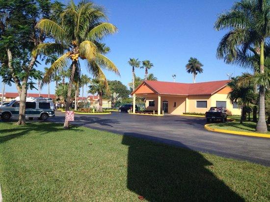 Fairway Inn Florida City : Entrance
