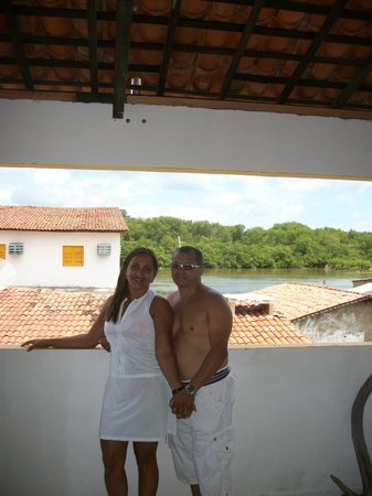 Maragua Pousada Hostel : Na varanda