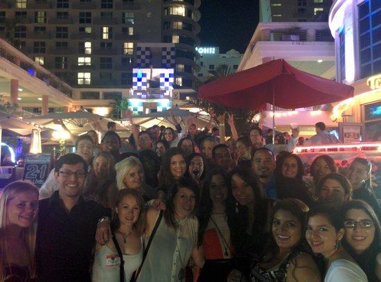 The Miami Pregame Pub Crawl