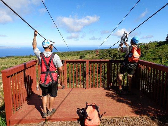 Kapalua Ziplines : Buster & TJ - Guides