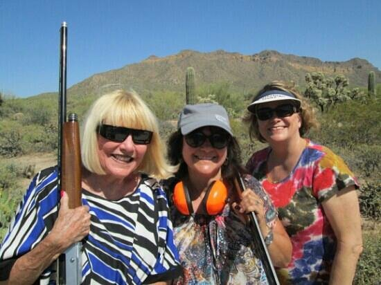 Right On Target Clay Guides of AZ: BFF Shot Gun Shooting