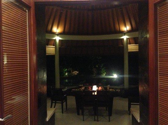 The Kunja Villas & Spa: Valentine Dinner inside villa