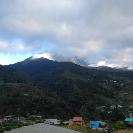 The Cottage Hotel Kundasang: View from the roof top