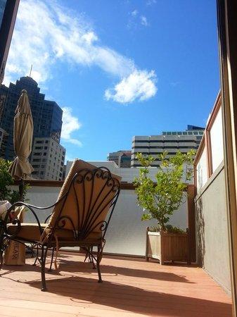 Hotel Griffon: Suite Patio