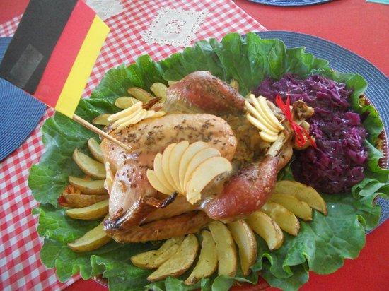 Baroque Culinária Européia Slow Food : Putenbraten Bayern