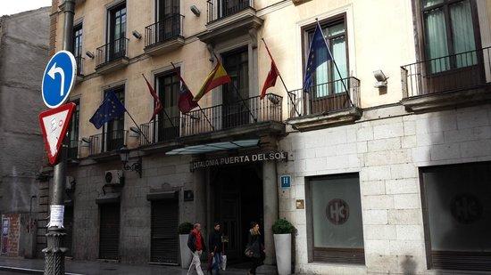 Catalonia Puerta del Sol: Fachada