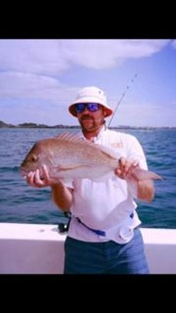 Get Reel Charters: Yummy Snapper for dinner