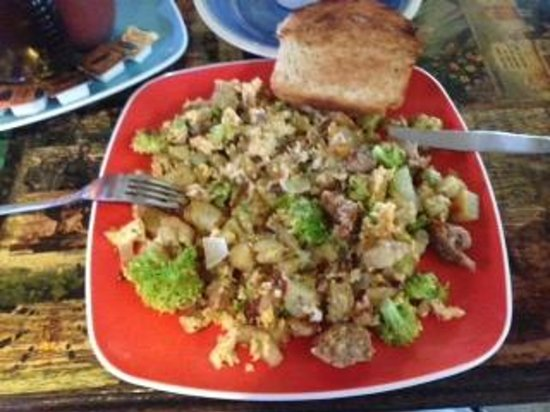 Cool Beans Cafe : Breakfast Scramble at Cool Beans