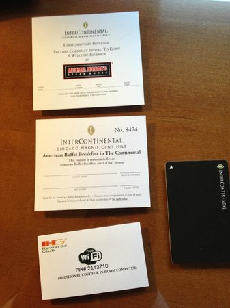 InterContinental Chicago Magnificent Mile: Manager Upgrade!