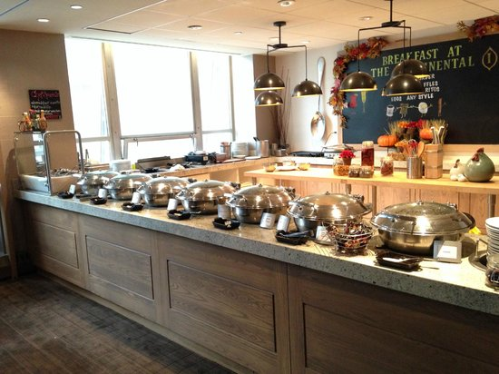 InterContinental Chicago Magnificent Mile: The Continental Breakfast