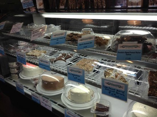 Joey Biscotti Bakery: I think I tried almost everything in here!  All good!