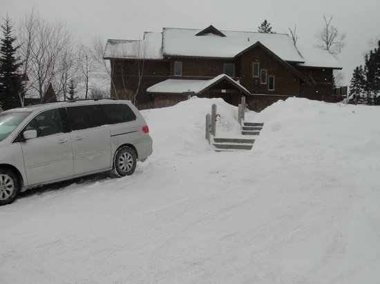 Lutsen Resort on Lake Superior : Poplar River Condo in Winter