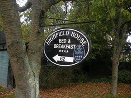 """Highfield House: The sign to welcome you """"home"""""""