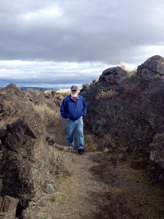 Lava Beds National Monument: Nice trails