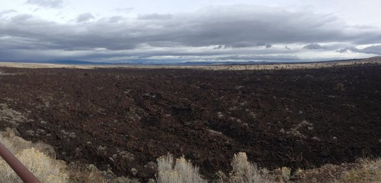 Lava Beds National Monument: Amazing views!
