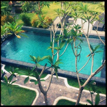 Puri Asri Villa & Spa: Вид из номера