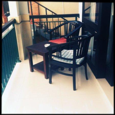 Puri Asri Villa & Spa: Балкон