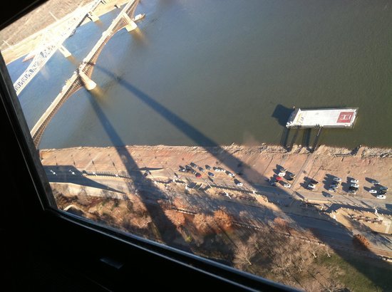 The Gateway Arch: From the top